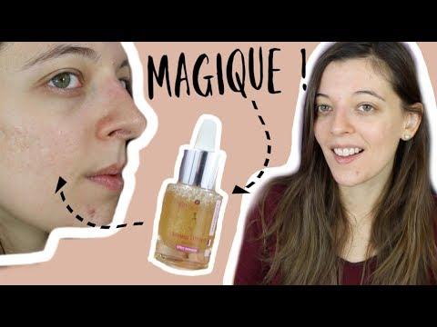 Vidéo de la youtubeuse Mary sur le sérum liftant et le fluide anti-pollution